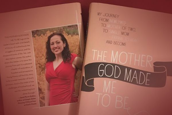 Karen Valenin author of The Mother God Made Me To Be