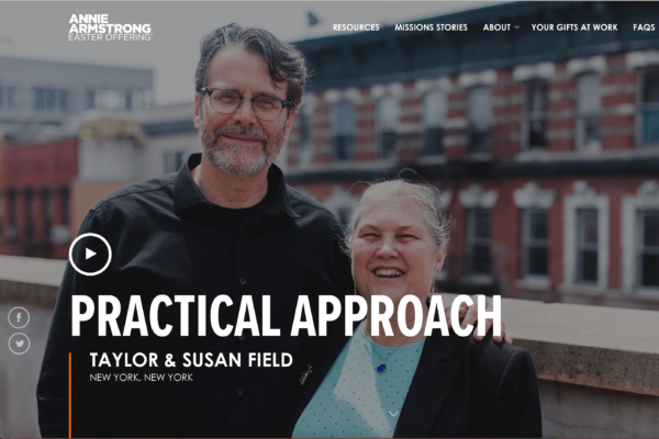 Susan and Taylor Field